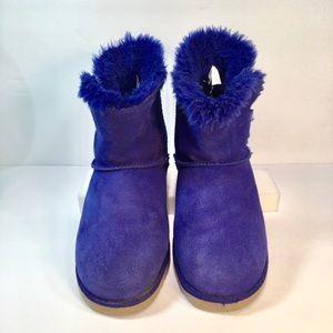 Circo Girls Purple Suede Boots